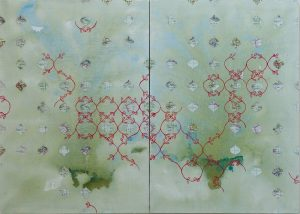 sburet_adrift-in_hope_2010_mixed_media_on_linen_100cmx140cm