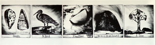shells-bird-moon-rock-and-tree-lithograph-2007