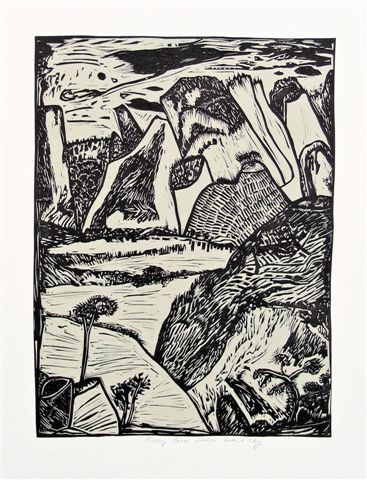 rocky-cove-under-active-sky-relief-print-2