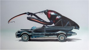 bug-on-toy-car-vi_oil-on-canvas_42x72cm_2009