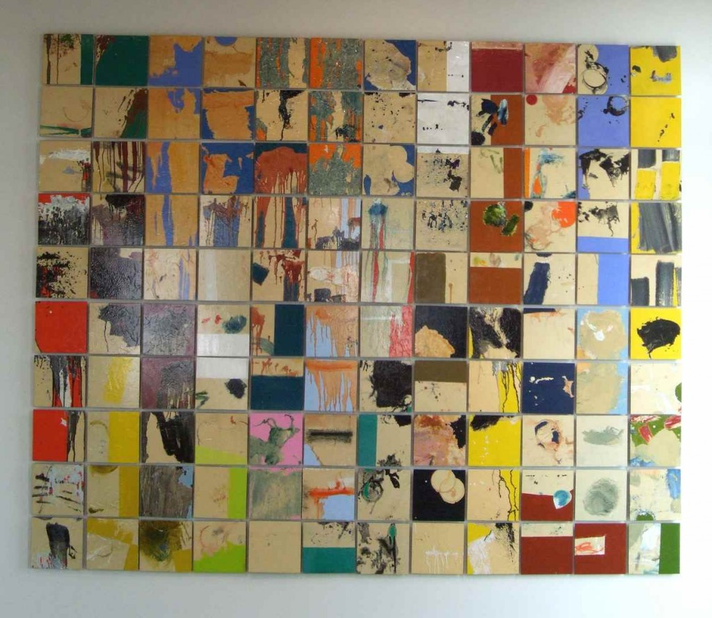paul-lorenz-panel-installation-3-oil-on-paper-over-masonite-panels-2009-variable-size